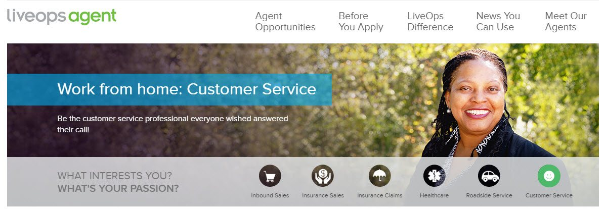 liveops agent customer service