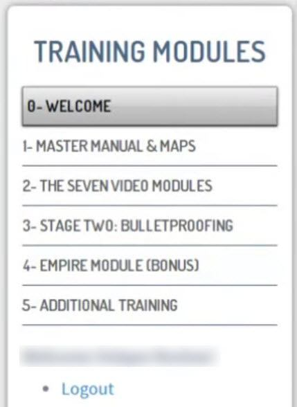 master manual training module