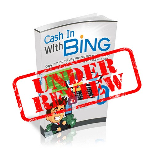 what is cash in with bing about