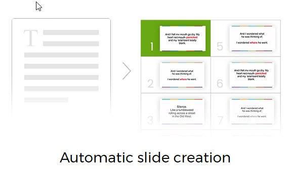 easy vsl slide creation