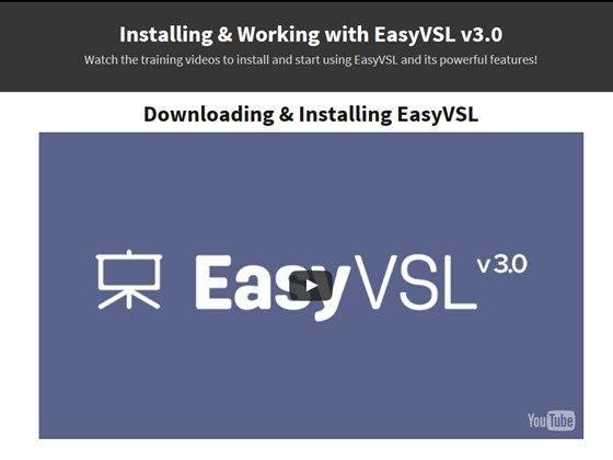 easy vsl training