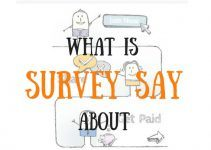 what is survey say about