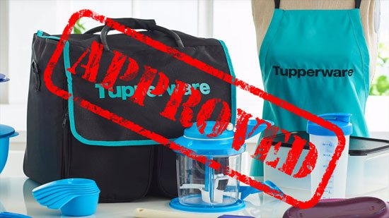 tupperware approved