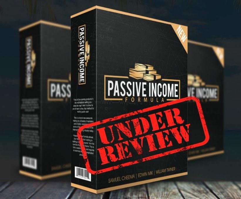 passive income formula review