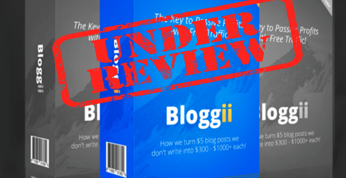 is bloggii a scam