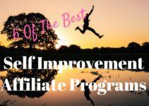 self improvement affiliate programs