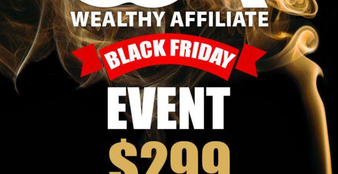 wealthy affiliate black friday offer