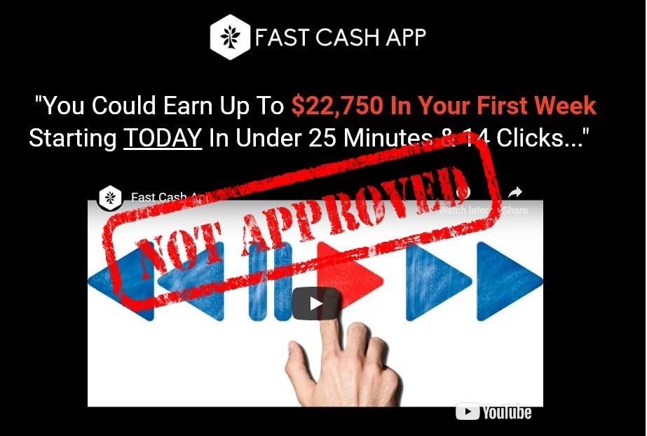 Fast Cash App Review 22 750 In Your First Week Escape The Rat Race