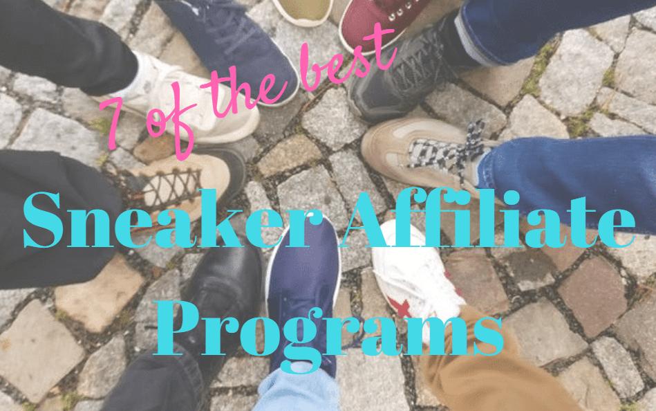 sneaker affiliate programs