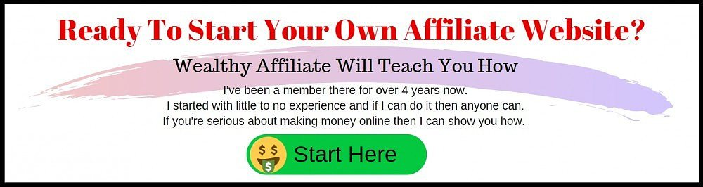 start your own affiliate website